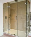 2 sided corner shower enclosure