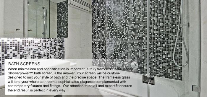Bespoke Bath Screens