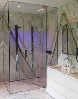 super-sized-floor-to-ceiling-frameless-shower-enclosure