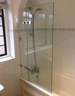single-panel-bath-screen
