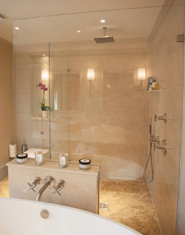 Trade bespoke frameless shower screens