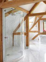 Bespoke frameless Shower Enclosure