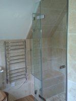 period property frameless shower enclosure