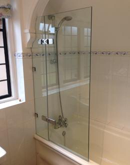 Bespoke bathscreen special layout