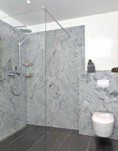 trade frameless shower enclosure