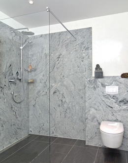 trade frameless shower enclosure