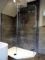 Pentagon-shower-with-Angled-Panel