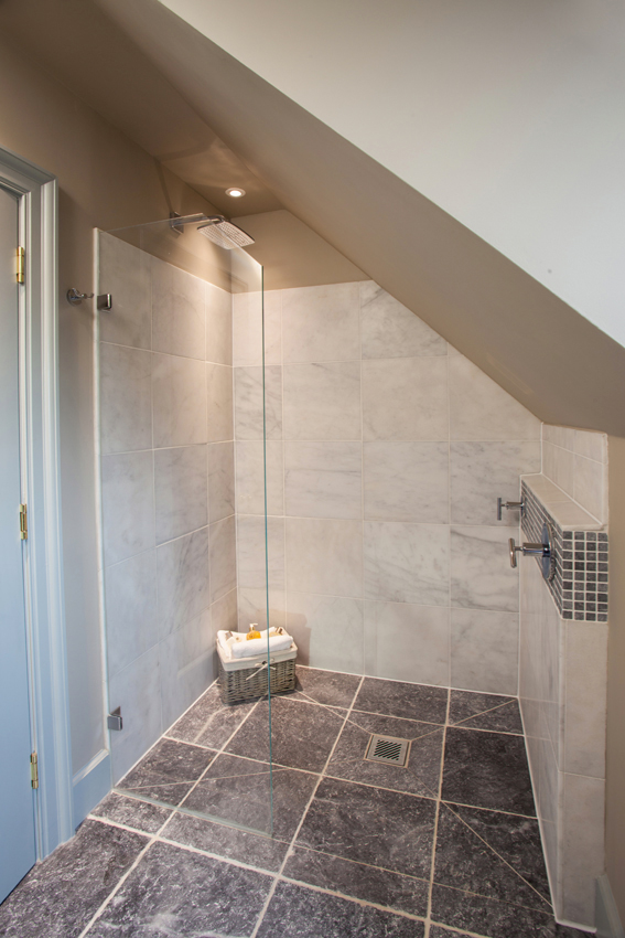 Sloped Ceiling Bespoke Shower Enclosures For Loft Conversions Showerpower