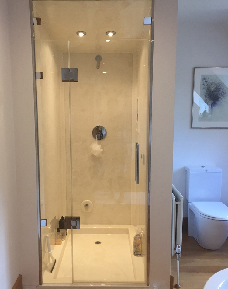 Dream Steam Rooms Created With Bespoke Frameless Glass Shower Power
